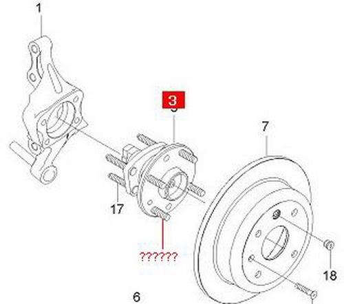замена шпилек колеса chevrolet cruze